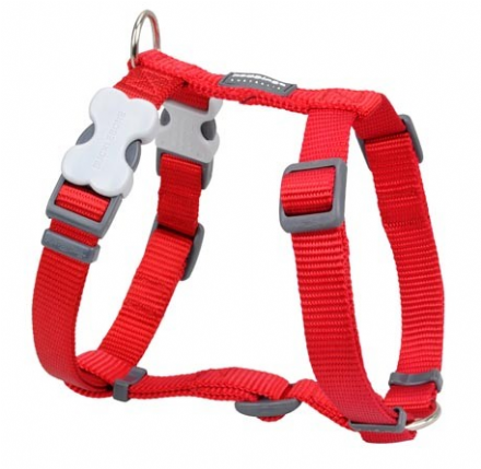Red Dingo Dog Harness Classic Red